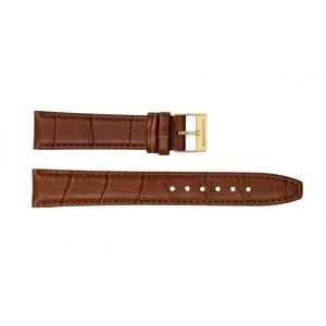Ritter Uhrbänder Uhrenarmband Ritter Uhrband hellbraun Kalbsleder mit Krokoprägu