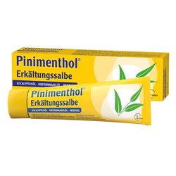 PINIMENTHOL Erkältungssalbe Eucal./Kiefern./Menth. 50 g
