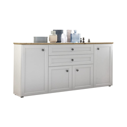 Bega Hbz Meble SP.z.o.o Sideboard Toskana in weiß