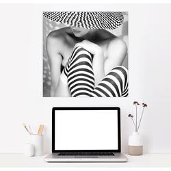 Posterlounge Wandbild, Zack, zack, zack 100 cm x 100 cm