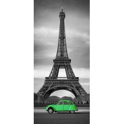 Papermoon Fototapete Paris - Türtapete, matt, (2 St), Vlies, 2 Bahnen, 90 x 200 cm