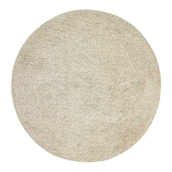 Hochflor-Teppich Nora - Hochflor Wollteppich, Rund, Handgetuftet, Fable & Loom, rund, Höhe 30 mm, Hochflor, handgetuftet, Wolle grau Ø 150 cm x 150 cm x 150 cm x 30 mm