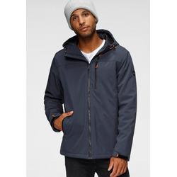 Polarino Winterjacke mit vielen praktischen Taschen blau 48