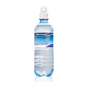 Multipower - Aqua, 12 PET-Flaschen a 0,5L (inkl 3EUR Pfand)