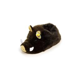 HTI-Living Hausschuhe Plüsch Wildschwein Plüsch Hausschuhe
