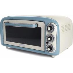 , Minibackofen »Vintage 979 blau«, Oberhitze Unterhitze, Backofen, 88336547-0 blau blau