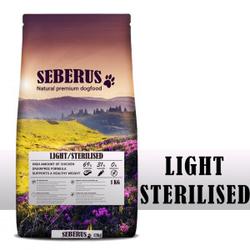Seberus Sterilised / Light Hundefutter 4 x 1 kg + gratis Tennisball