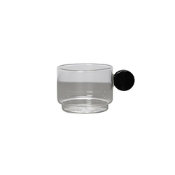 By On Dot Kaffeeglas Schwarz