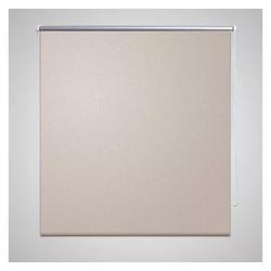 Rollo Verdunkelungsrollo beige, vidaXL 100 cm