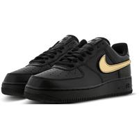 Nike Men's Air Force 1 '07 LV8 black-gold, 42.5