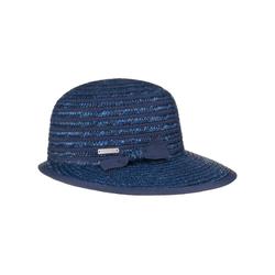 Seeberger Sonnenhut (1-St) Cap mit Schirm blau