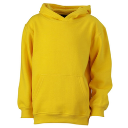 Kinder Kapuzenpullover | James & Nicholson sun-yellow M