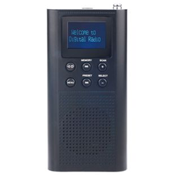 Roadstar TRA-70D+/BK tragbares DAB+/UKW-Radio