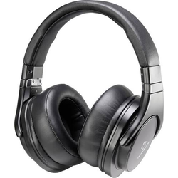 Renkforce HP-P266 On Ear Kopfhörer On Ear Headset Schwarz