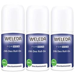 Weleda Men 24h Deodorant Roll-On 3x50ml