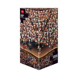HEYE Puzzle Puzzle Orchestra, Loup, 2000 Teile, Puzzleteile