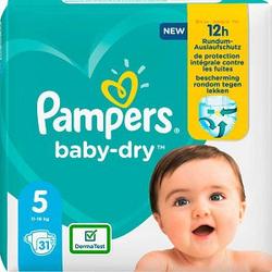 Pampers® Windeln baby-dry™ Größe Gr.5 (11-16 kg) für Kleinkinder