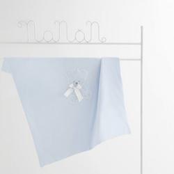 Jersey-Abdeckung für Kinderwagen Nanan Coccolo Azzurro