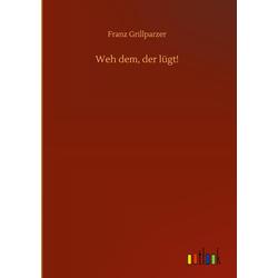 Weh dem der lügt! als Buch von Franz Grillparzer