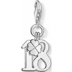 THOMAS SABO Charm-Einhänger Glückszahl 18, 0473-001-12