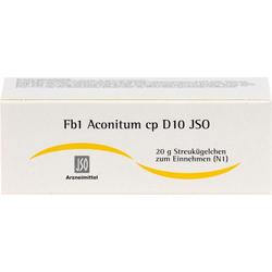 JSO Fb 1 Aconitum cp D 10 Globuli 20 g