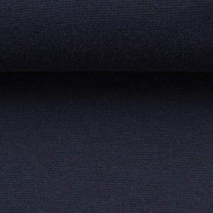 Bündchen Feinstrick Heike Nachtblau | 12,80 €/m | Breite: 0,92 Meter | Länge: Wird in 0,1 Metereinheiten verkauft