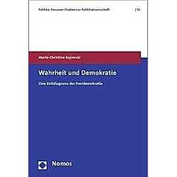 Wahrheit und Demokratie. Marie-Christine Kajewski  - Buch