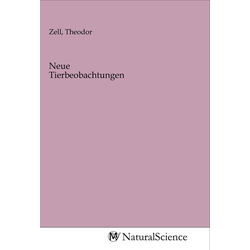 Neue Tierbeobachtungen als Buch von