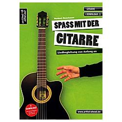 Spaß mit der Gitarre  m. Audio-CD. Norbert Roschauer  - Buch