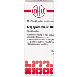 STAPHYLOCOCCINUM D 200 Globuli 10 g