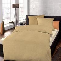 SCHLAFGUT Bettwäsche Mako-Satin, Schlafgut, mit zartem Seidenglanz natur 1 St. x 155 cm x 220 cm