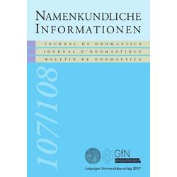 Namen und Übersetzung als Buch von
