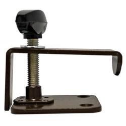 Klemmvorrichtung für Hubtischgestelle braun