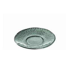 Glas Koch Keramikunterasse Matera in grün, 15 cm