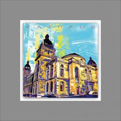Alubild WUPPERTAL(LB 50x50 cm) Pro-Art