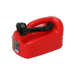 Reserve Kanister 5 Liter mit Trichter Treibstoff Öle Benzin