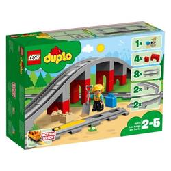 LEGO® DUPLO® - 10872 Eisenbahnbrücke und Schienen