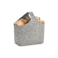 HTI-Living Aufbewahrungsbox Aufbewahrungskorb Filz, Aufbewahrungskorb grau