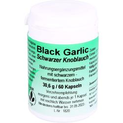 BLACK GARLIC schwarzer Knoblauch Kapseln 60 St.