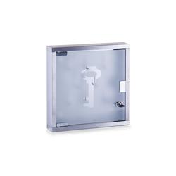 HTI-Living Schlüsselkasten Schlüsselkasten Edelstahl/Glas