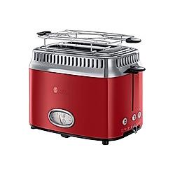 Retro Vintage Toaster (Farbe: rot)