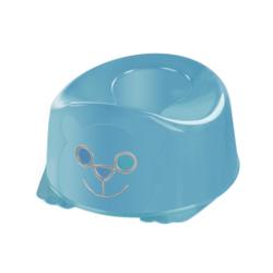 """reer """"Der Pott"""" Babytopf, Ergonimisches Töpfchen zum Sitzen und leichtes Aufstehen, Farbe: permutt - hellblau"""