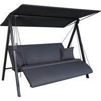 Angerer Lounge Zip anthrazit 3-Sitzer