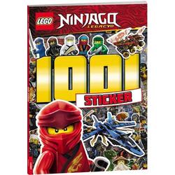 LEGO NIN # 1001 Sticker farbig