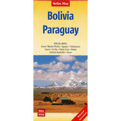 Nelles Map Bolivia - Paraguay 1 : 2 500 000