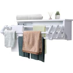 COSTWAY Handtuchständer Wäscheständer, ausziehbar