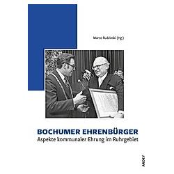 Bochumer Ehrenbürger - Buch