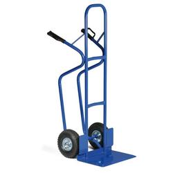Stahlrohr-stapelkarre mit breiter schaufel, tragfähigkeit 250 kg,