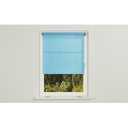 Rollo  Emma light ¦ blau ¦ 29% Polyester, 71% Papier ¦ Maße (cm): B: 100