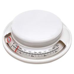 Dr. Oetker Küchenwaage Dr. Oetker - Back-Helfer Küchenwaage analog bis 2kg Weiß (1531) Backwaage Waage